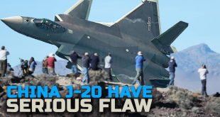 Serious Flaw in China J-20 stealth fighter jet