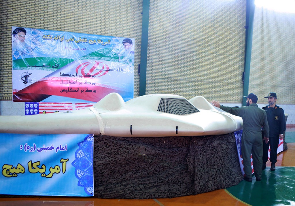 Iran captured U.S stealthy RQ-170 drone and decoded video footage from it