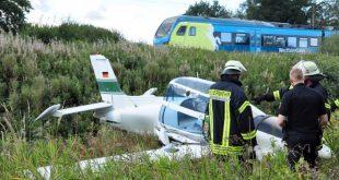 1 Dead in a Ultralight plane crashed near Nannhausen, Germany