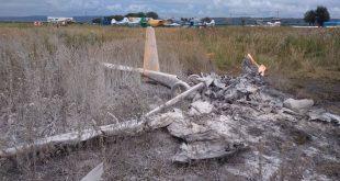 1 dead in a Aeroprakt A-22L2 Foxbat plane crash in Russia
