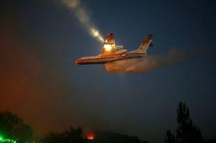 Passengers Film Plane jet engine burn during emergency landing