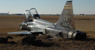 U.S. Air Force Northrop T-38 Talon crashes in northwest Oklahoma