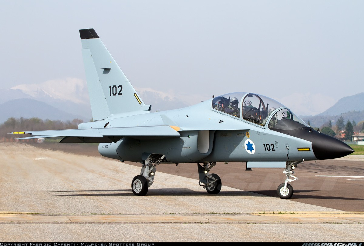 Two Isreali M-346 Lavi trainer jet collided with each other