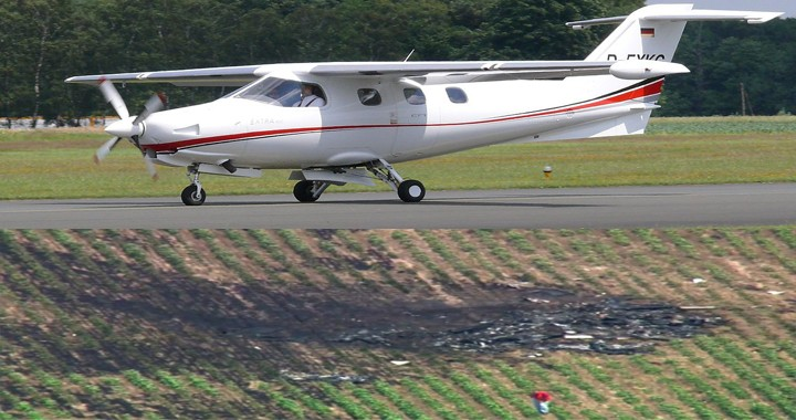 5 Dead in a small passenger airplane crash in in North Oklahoma