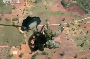 Video of Thai Paratrooper's Accidental Death