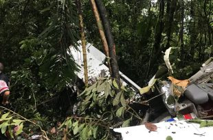 Aerobell Airlines Piper PA-34-220T Seneca III plane Crashes in Costa Rica