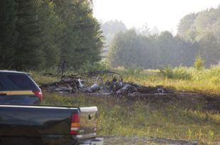 Airplane crash near John H Boylan State Airport, 1 Dead