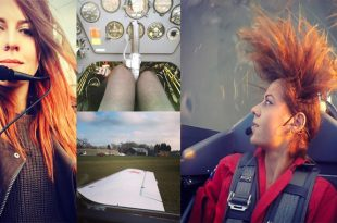 Stunning Videos of Female stunt pilot Amelie Windel In Extra 300 aerobatic plane
