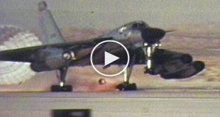 Video of B-58 Hustler Dramatic Emergency Landings After 8 Refulings And 14 Hours