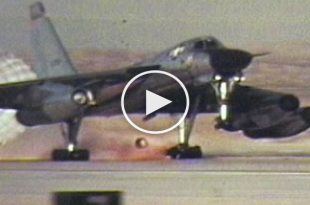 Video of B-58 Hustler Dramatic Emergency Landings After 8 Refulings And 14 Hours