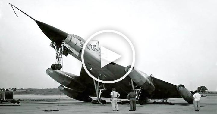 Video of B-58 Hustler Dramatic Emergency Landings After 8 Refulings And 14 Hours 1