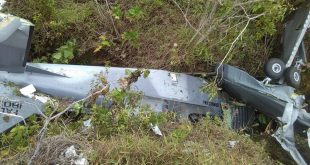 T-35B Pillan trainer Aircraft of Dominican Air Force crashed near Elias Pina