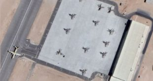 Satellite imagery spotted Russian Ka-52 attack helicopters at Egypt's airbase a