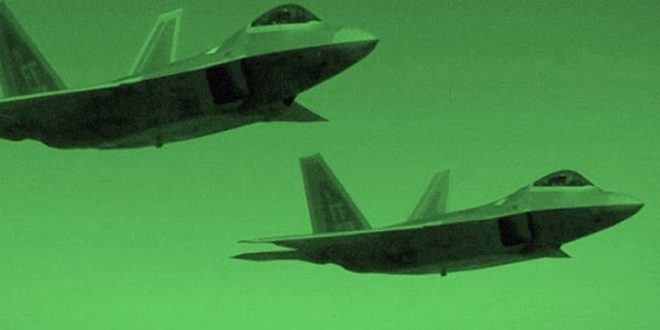 F-22 Raptor First Time used in Combat in Syria on a secret