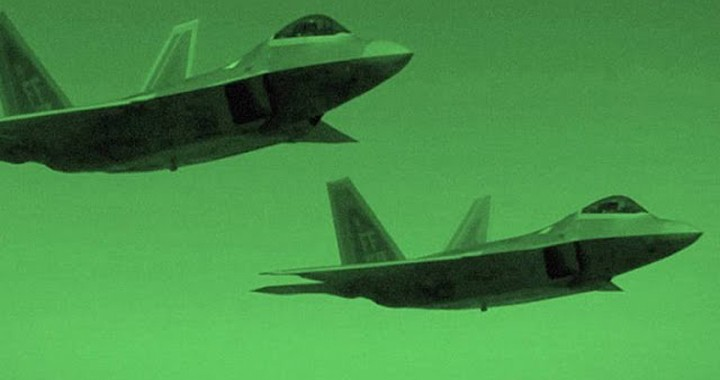 Watch: F-22 First Time used in Combat in Syria