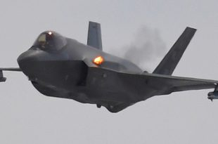 F-35A Using the Internal Cannon For The First Time