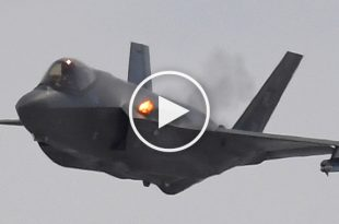 F-35A Using the Internal Cannon For The First Time In Operational Training
