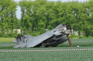 Swedish Air Force Saab JAS 39C Gripen Crashed near Möljeryd, Ronneby