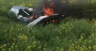 Ultralight plane crashes into field near Grande Prairie, Pilot Dead