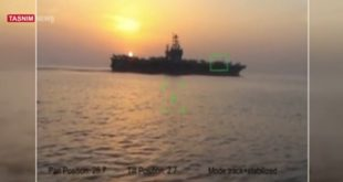 Iran trolled US by releasing videos of Iran military hardware aiming at US carrier