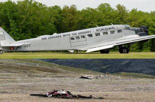 Ju-Air Junkers Ju-52/3mg4e crashes on Piz Segnas