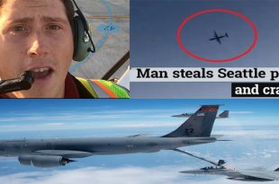 Listen To KC-46 Tankers & F-15s audio recording During Stolen Q400 QRA Incident