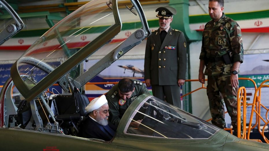 "Iran unveils new Fourth-generation fighter jet name "" Kowsar"""
