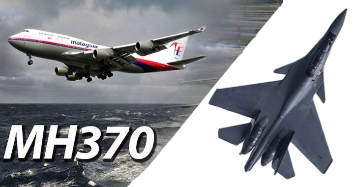 MMH370 intercepted by Sukhoi SU-30 FIGHTER JET before disappearing