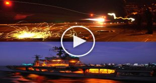 Scary Video of landing on an aircraft carrier at night with an electrical failure