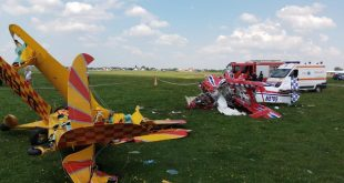 1 Dead in Two Steen Aero Lab Skybolt aerobatic aircraft midair collision Romania