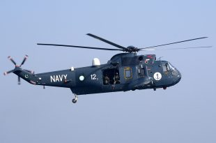 Pakistan Navy helicopter crashes in Arabian Sea