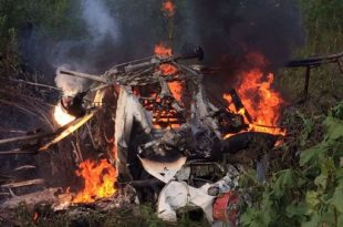 Piper PA-18 Super Cub crashed near Cimadolmo, Treviso, 2 DEAD