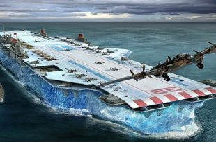 Project Habakkuk: Britain Wild Plan To Make Icebergs Into Aircraft Carriers