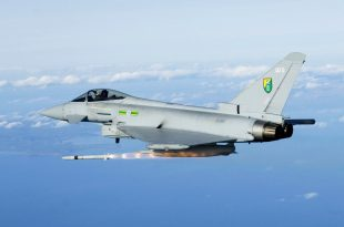 Spanish Eurofighter Typhoon Accidentally Fires An Air-To-Air Missile Over Estonia