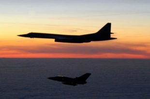 2 Russian Tu-160 bombers flew near Alaska for the 'first time in history'