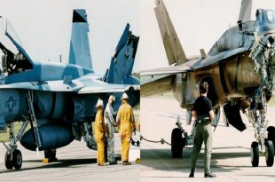 How Two F/A-18s Hornet pilots landed Their planes After horrific mid-air Collision