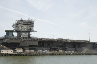 Disposal of Navy first nuclear-powered aircraft carrier could exceed $1 billion