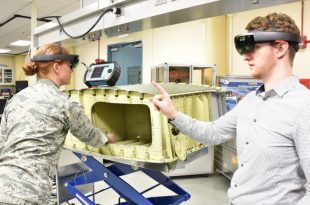 AFRL developing a augmented reality System for inspections of aircraft