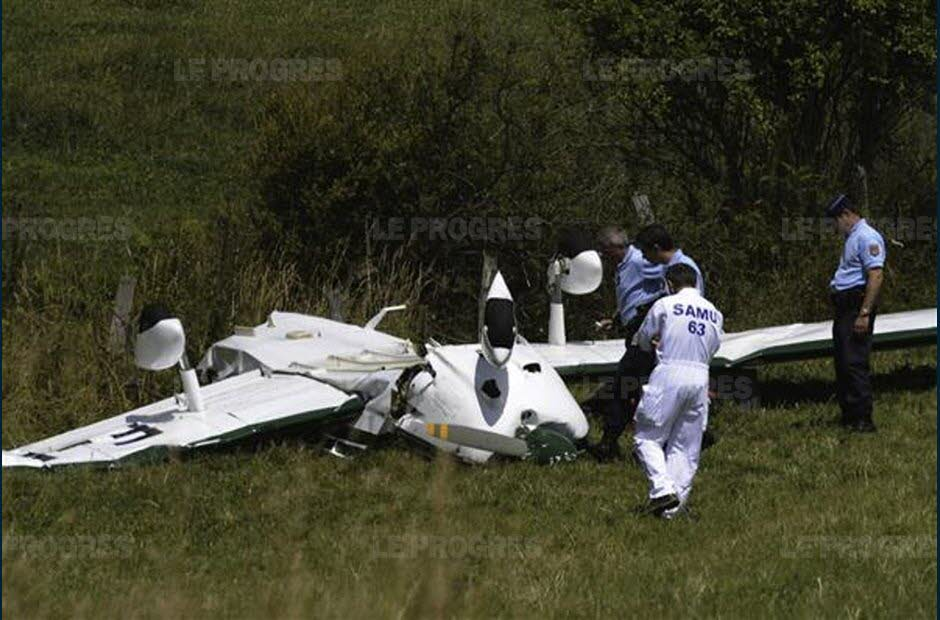 3 killed in a light plane Puy-de-Dôme, France