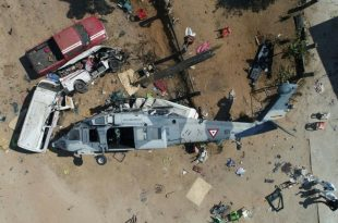 US Army UH-60M Black Hawk Helicopter crashed in Iraq with 10 On-board