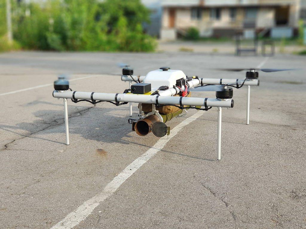 Ukraine unveils new drone with grenade launcher