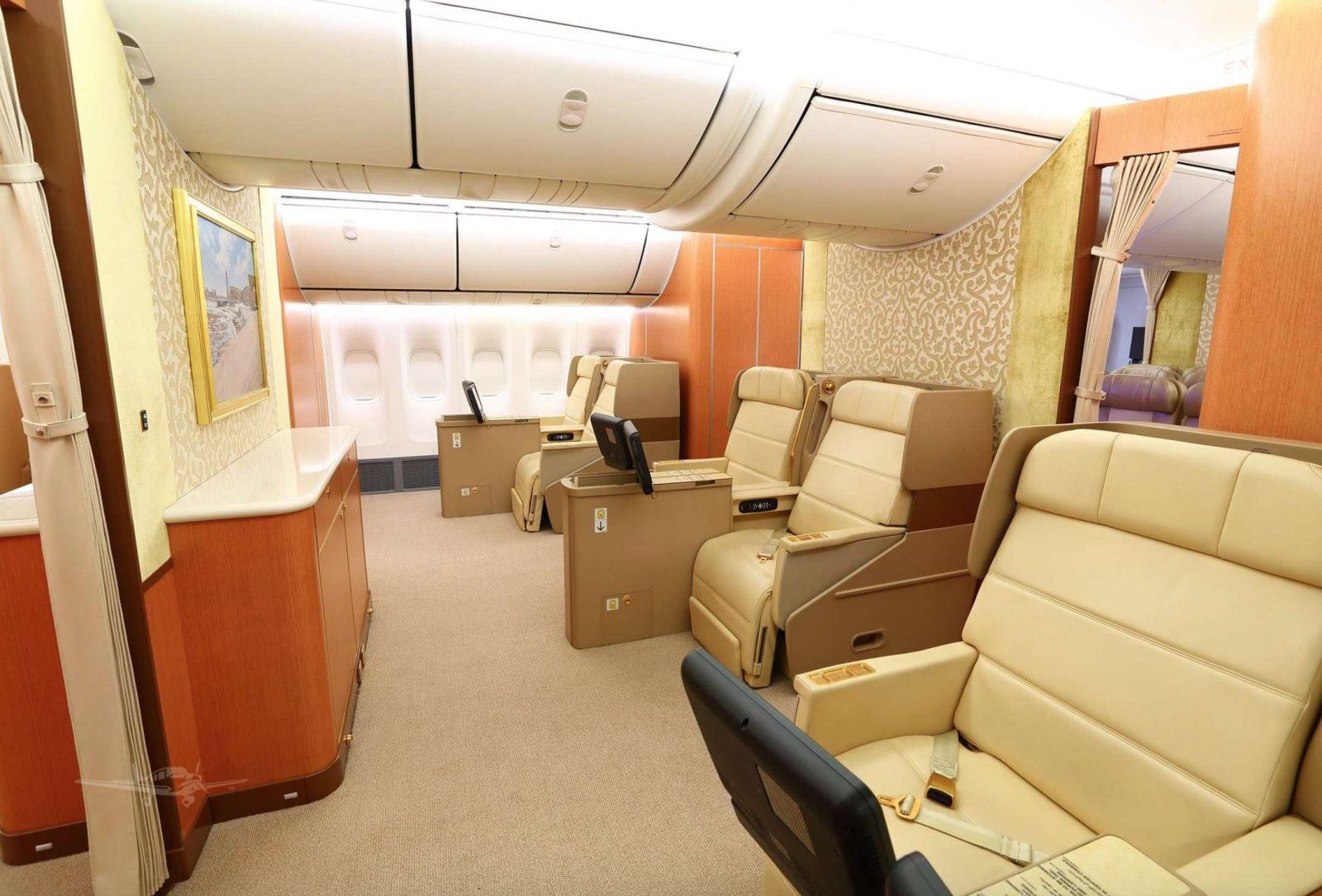 Qatari Royal Flight 747-8I Jumbo Jet 6