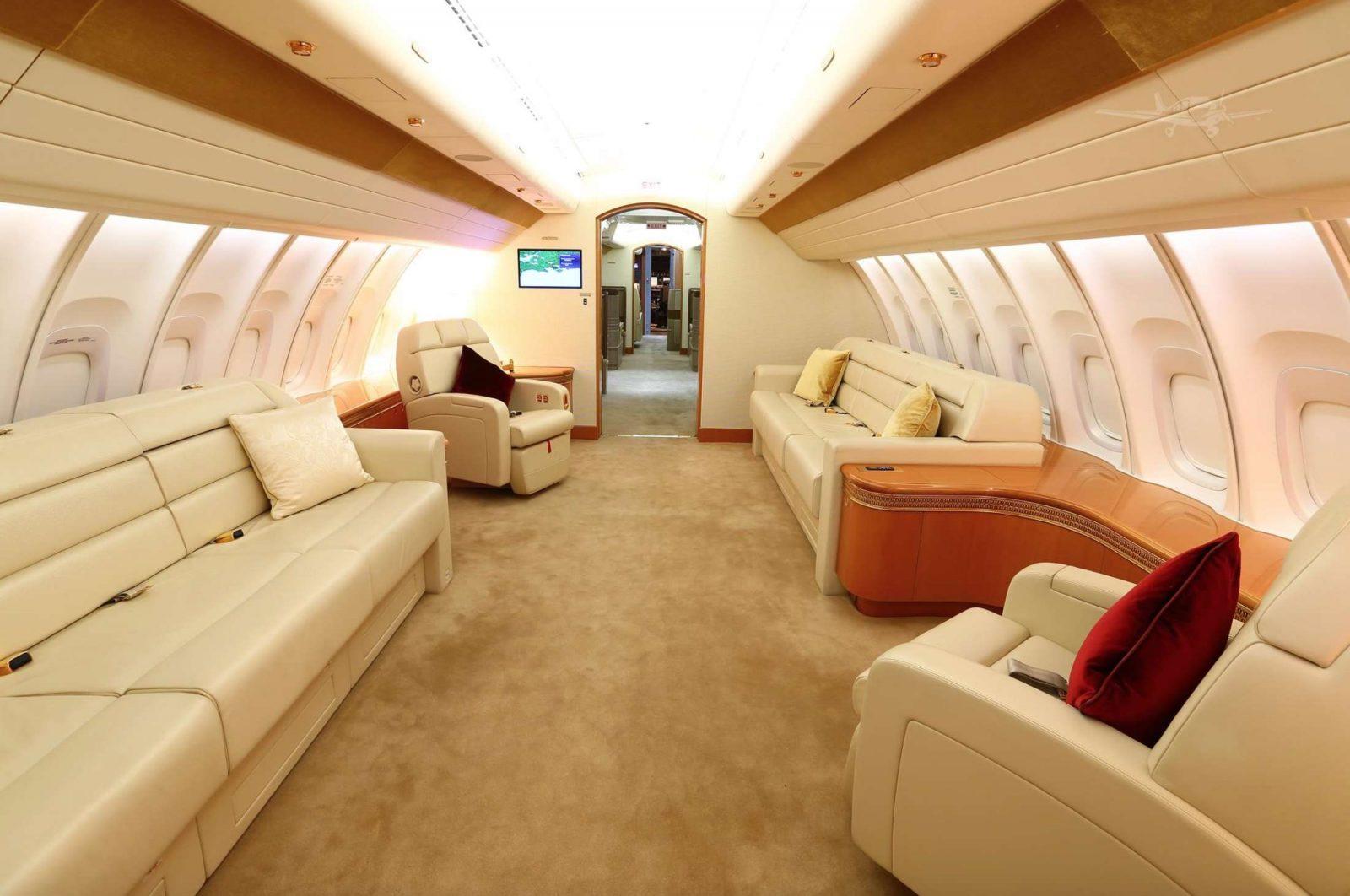 Qatari Royal Flight 747-8I Jumbo Jet 7