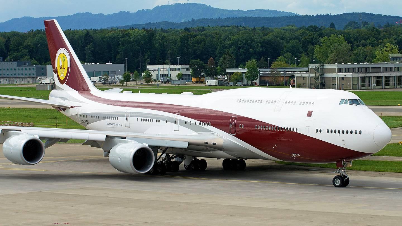 Qatari Royal Flight 747-8I Jumbo Jet