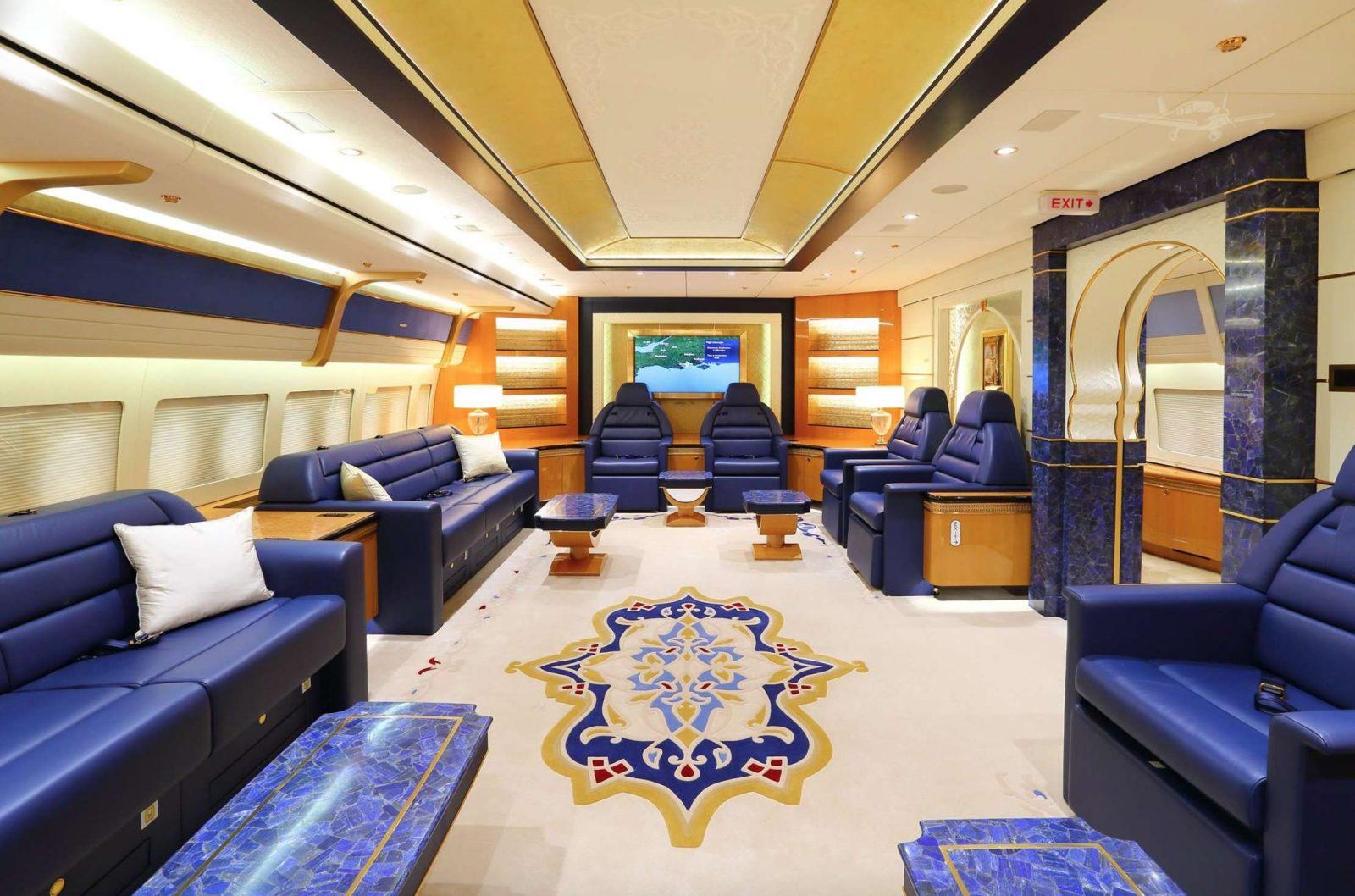 Qatari Royal Flight 747-8I Jumbo Jet 1
