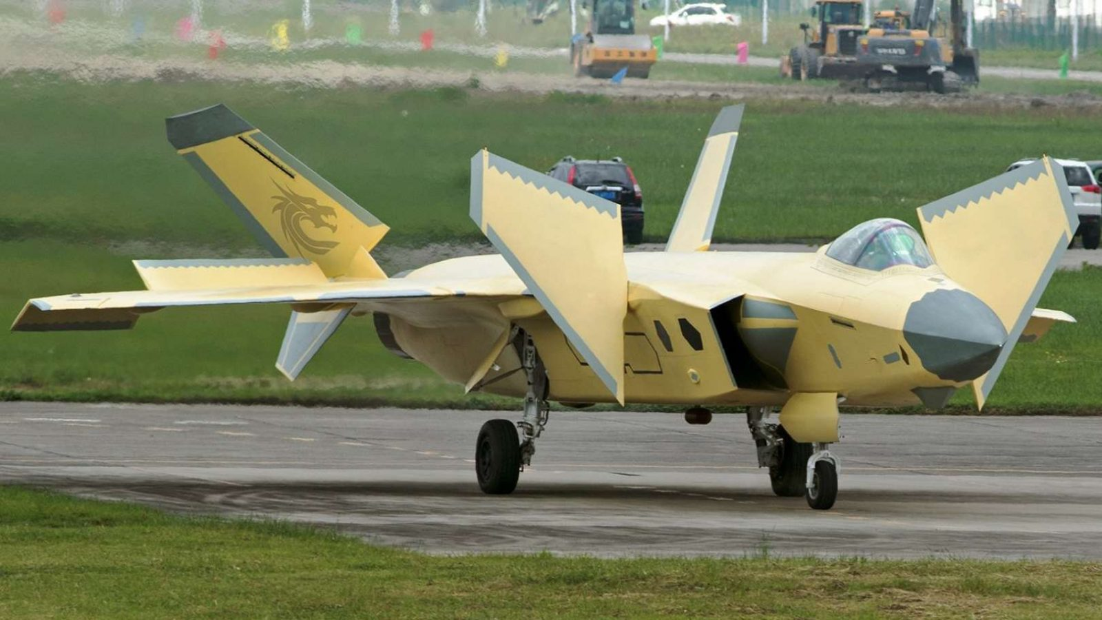 Latest Shots of Unpainted J-20 Stealth Fighter provide Insights about New Capability 1