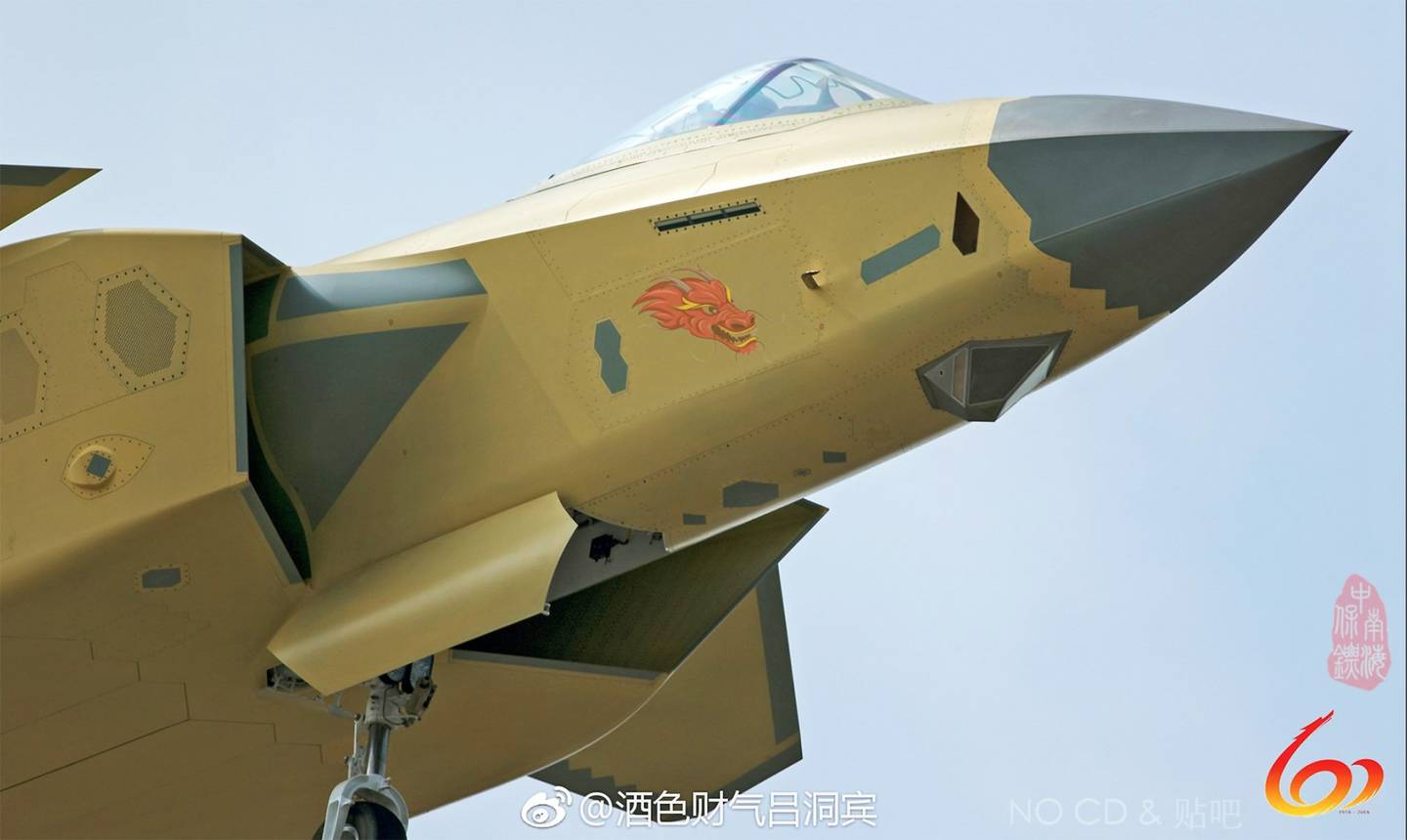 Latest Shots of Unpainted J-20 Stealth Fighter provide Insights about New Capability
