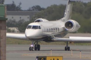 Plane carrying Post Malone makes emergency landing With 2 Blown Tires