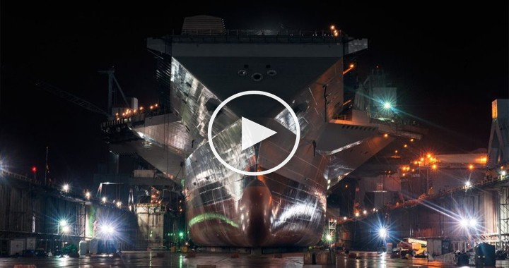 5 Amazing Facts About USS Gerald R. Ford (CVN-78) Aircraft Carrier