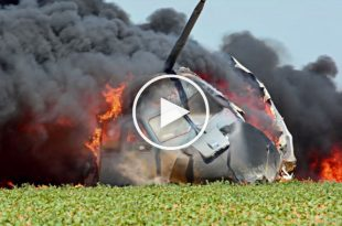 Latest released Video of Airbus A400M crash at Seville in 2015